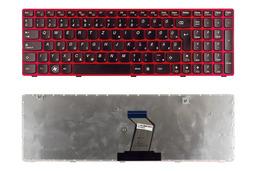 Lenovo IdeaPad G580, G585 gyári új magyar fekete-piros laptop billentyűzet