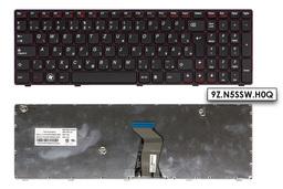 Lenovo IdeaPad G585 lila-fekete magyar laptop billentyűzet