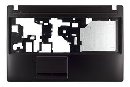 Lenovo Ideapad G580, G585 laptophoz gyári új SZÁLCSISZOLT FEKETE felső fedél (AP0N2000100)