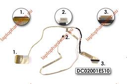 Lenovo IdeaPad G580, G585 gyári új LCD kábel (DC02001ES10, DC02001ES00)