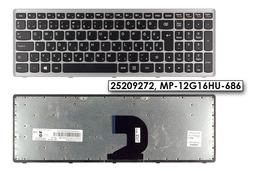 Lenovo IdeaPad P500, Z500 gyári új magyar fekete-szürke billentyűzet (25209272)