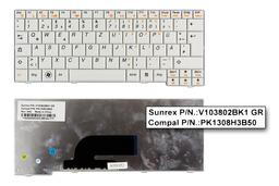 Lenovo IdeaPad S10-2, S11 gyári új német fehér laptop billentyűzet (V103802BK1 GR)