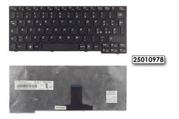 Lenovo IdeaPad S10-3 gyári új olasz fekete laptop billentyűzet (25010978)