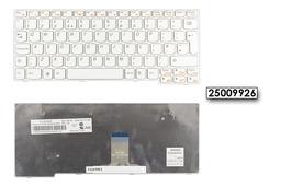 Lenovo IdeaPad S10-3 gyári új UK angol fehér laptop billentyűzet (25009926)