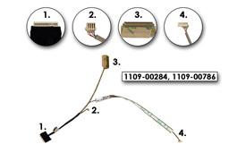 Lenovo IdeaPad S100, S110 gyári új laptop LED LCD kábel (1109-00284, 1109-00786)