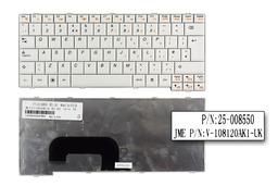 Lenovo IdeaPad S12 gyári új US angol fehér laptop billentyűzet (25-008550)