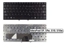 Lenovo IdeaPad S9, S9e, S10, S10e US angol gyári új  fekete laptop billentyűzet