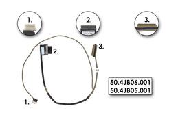 Lenovo IdeaPad U160, U165 gyári új kijelző kábel, 50.4JB06.001, 50.4JB05.001