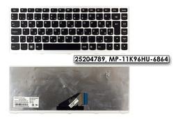 Lenovo IdeaPad U310 gyári új magyar fehér-fekete laptop billentyűzet (Win7) (25204789)