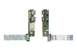Lenovo IdeaPad U330, U330p használt laptop USB/kártyaolvasó panel kábellel (39LZ5UB0000)
