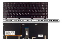 Lenovo IdeaPad Y400, Y410P, Y430P gyári új magyar háttér-világításos laptop billentyűzet (25205398)