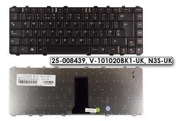 Lenovo IdeaPad Y450, Y460, Y550, Y560 gyári új fekete UK angol laptop billentyűzet (25-008439)
