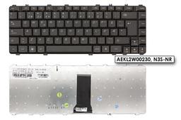Lenovo IdeaPad Y450, Y460, Y550, Y560 gyári új fekete norvég laptop billentyűzet (25-008675)