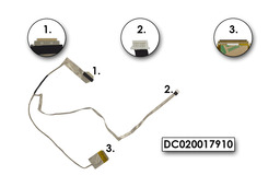 Lenovo IdeaPad Y570, Y570A, Y570P, Y570N gyári új LCD kábel, DC020017910