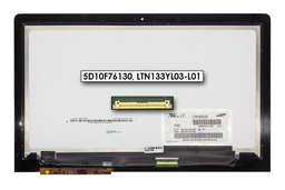Lenovo IdeaPad Yoga 3 Pro gyári új laptop IPS eDP LCD kijelző modul (13.3'' Quad HD+ 3200x1800) (5D10F76130, LTN133YL03-L01)