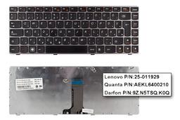 Lenovo IdeaPad Z370, Z470 Gyári Új magyar bronz notebook billentyűzet