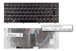 Lenovo IdeaPad Z370, Z470 használt magyarított bronz laptop billentyűzet