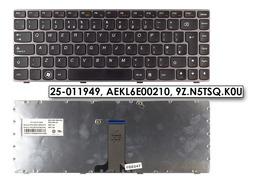 Lenovo IdeaPad Z370, Z470 gyári új UK angol bronz laptop billentyűzet (25-011949)