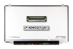 Gyári új matt 14.0'' HD+ (1600x900) LED laptop Slim kijelző (csatlakozó: 40 pin - jobb)