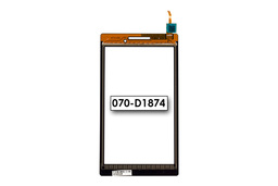 Érintő panel, touchscreen Lenovo TAB 2 A7-10 tablethez (070-D1874)