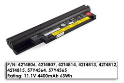 Lenovo ThinkPad Edge 13, E30, E31 gyári használt 75%-os 6 cellás laptop akku/akkumulátor (FRU 42T4813)