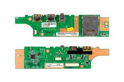 Lenovo Thinkpad Edge 13 használt USB/Kártyaolvasó/Audio panel Always On USB porttal (04W0355)