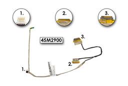 Lenovo ThinkPad Edge 13 használt laptop LCD kábel (45M2900, 45M2285, DD0PS1LC000 3A)