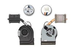 Lenovo ThinkPad Edge E330, E335 használt hűtő ventilátor egység, 04W4409, 60.4UH04.002, KSB0705HB-BK2S