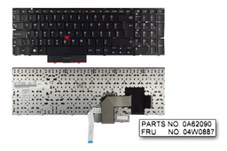 Lenovo ThinkPad Edge E520, E525 gyári új magyar laptop billentyűzet (FRU 04W0887)