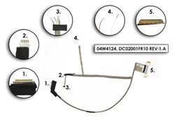 Lenovo Thinkpad Edge E530, E530c, E535, E545 gyári új laptop LCD kábel (04W4124, DC02001FR10)