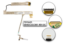 Lenovo ThinkPad L510, SL510 gyári új laptop LCD kábel (75Y5629)