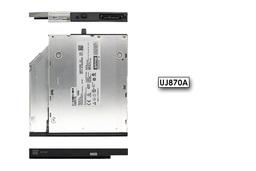 Lenovo ThinkPad R400, R500, W700 használt laptop DVD-író (12.7mm) előlappal (UJ870A, 42T2523)