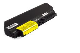 Lenovo ThinkPad T400 laptop akkumulátor, új, gyárival megegyező minőségű helyettesítő, 9 cellás (6000-6600mAh)
