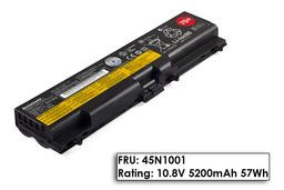 Lenovo ThinkPad T520 laptop akkumulátor, gyári új, 6 cellás (4400-5200mAh)
