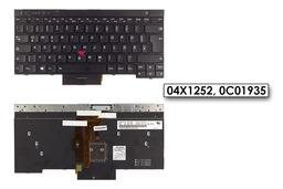 Lenovo ThinkPad T430, T530, W530, X230 gyári új német világítós laptop billentyűzet (04X1252)