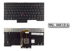 Lenovo ThinkPad T430, T530, W530, X230 használt magyar laptop billentyűzet (04X1216)