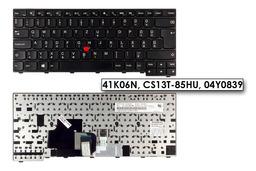 Lenovo ThinkPad T431s, T440, T440s gyári új magyar laptop billentyűzet, 41K06N, CS13T-85HU, 04Y0839