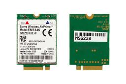 Lenovo ThinkPad T440, W540 laptophoz EM7345 használt 4G WWAN kártya (04X6014)