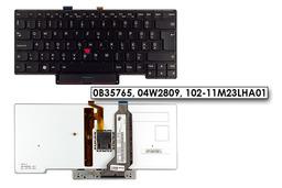 Lenovo Thinkpad X1 Carbon (1. generáció) gyári új magyar háttér-világításos billentyűzet (0B35765, 04W2809)