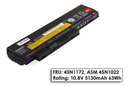 Lenovo ThinkPad X220, X230 gyári új 6 cellás laptop akku/akkumulátor (FRU 45N1172)