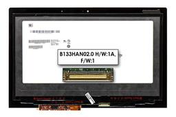 Lenovo Yoga 2 13'' ultrabookhoz gyári új fényes 13.0'' FHD (1980x1080) eDP IPS laptop Slim kijelző modul keret nélkül (B133HAN02.0 H/W:1A, F/W:1)