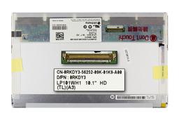 Gyári új fényes 10.1'' (1366x768) HD LED laptop kijelző (csatlakozó: 40 pin - bal)