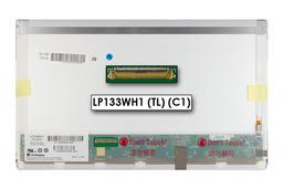 Gyári új fényes 13.3'' HD (1366x768) LED laptop kijelző (csatlakozó: 40 pin - bal)
