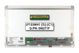 Gyári új matt 13.3'' HD (1366x768) LED laptop kijelző (csatlakozó: 40 pin - bal)