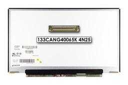 Gyári új fényes 13.3'' HD (1366x768) LED laptop Slim kijelző (csatlakozó: 40 pin - jobb)