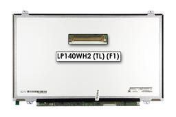 Gyári új matt 14.0'' HD (1366x768) LED laptop Slim kijelző (csatlakozó: 40 pin - jobb)