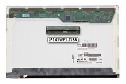 LG LP141WP1-TLB8 használt matt 14.1'' (1440x900) CCFL kijelző Lenovo ThinkPad T61 laptopokhoz (csatlakozó: 30 pin - jobb felül)