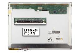 LG LP150X08-TLA2 15 inch XGA CCFL használt matt laptop kijelző