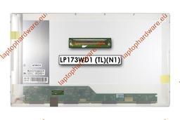 LG LP173WD1-TLN1 1600x900 HD+ használt B kategóriás  fényes laptop kijelző (balos)