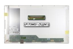 Gyári új fényes 17.3'' HD+ (1600x900) LED laptop kijelző (csatlakozó: 40 pin - bal)
